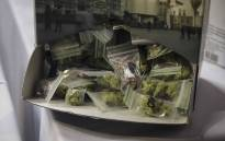 The 'Taste of Cannabis' exhibit at the Cape Town Cannabis Expo sold chocolates which were fashioned after marijuana plants. Picture: Cindy Archillies/EWN