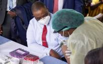 Zimbabwe's Vice President Constantino Chiwenga received a Chinese vaccine against the coronavirus on 18 February 2021. Picture: Ministry of Health Zimbabwe.
