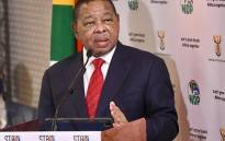 Higher Education, Science and Innovation Minister Dr Blade Nzimande on 9 June 2020 briefed the media in Pretoria on the state of readiness for the phased return of students at universities and TVET colleges in the country amid the COVID-19 pandemic. Picture: @GovernmentZA/Twitter