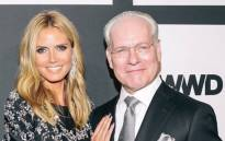 Heidi Klum and Tim Gunn. Picture: @heidiklum/Instagram.