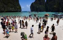 Maya Beach in Thailand. Picture: AFP