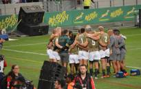 The Blitzboks lost to New Zealand but topped Pool A in the the World Sevens Series on 8 December 2018. Picture: @BlitzBokke/Twitter