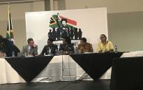 Government held a media briefing on the outcomes of the 2-day summit on gender-based violence in Centurion on Friday, 2 November 2018. Picture: Thando Khubeka/EWN