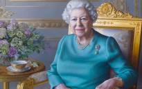 A portrait of Queen Elizabeth by the artist Miriam Escofet. Picture: @RoyalFamily/Twitter