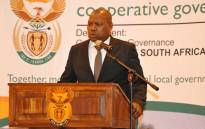 Cooperative Governance Minister  Zweli Mkhize. Picture: @NationalCoGTA/Twitter.