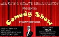 Wits University to host the #FunnyForFees show. Picture: @MSAWits/Twitter.