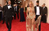 Jay-Z and Beyonce, wearing an outfit by Givenchy, attend the Costume Institute Benefit Gala at the Metropolitan Museum of Art on May 4 2015 in New York City. Picture: Getty Images/AFP.
