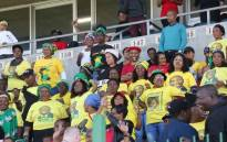 ANC supporters attend a Cosatu May Day rally at Athlone Stadium, Cape Town. Picture: Bertram Malgas/EWN.