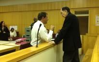 Convicted paedophile Johannes Kleinhans at the Parow Regional Court on 23 January 2013. Picture: Giovanna Gerbi/EWN