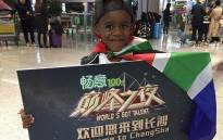 DJ Arch Jnr arrives in China for the talent show called 'World's Got Talent'. Picture: @djarchjunior/Facebook.com.
