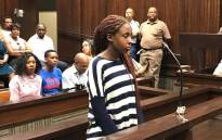 Karabo Tau is accused of kidnapping Kwahlelo Tiwane. Picture: Kevin Brandt/EWN