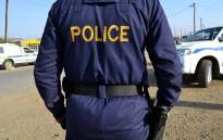 FILE: Police officers are expected to be dispatched to the area to maintain law and order throughout the day. Picture: SAPS.