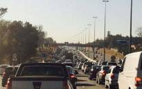 FILE: Traffic along the N1 towards Midrand. Picture: Twitter.