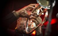 One of South Africa's legends, Bra Hugh Masekela, seduced with crowds with his legendary sound. Picture: Thomas Holder/EWN