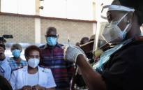 A healthcare worker at Chris Hani Baragwanath Hospital prepares a COVID-19 vaccination on the first day of the vaccine rollout to frontline workers on 17 February 2021. Picture: Abigail Javier/Eyewitness News.