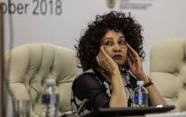 FILE: Minister of International Relations and Cooperation Lindiwe Sisulu at the Heads of Mission Conference in Pretoria. Picture: Abigail Javier/EWN