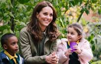 The Duchess of Cambridge visited an inner-city London wildlife garden on Tuesday 2 October 2018 in her first official solo engagement since giving birth to her third child, Prince Louis, in April. Picture: @KensingtonRoyal/Twitter