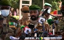 Mali interim Vice President Assimi Goita. Picture: AFP