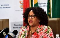 FILE: Communications Minister Nomvula Mokonyane. Picture: GCIS