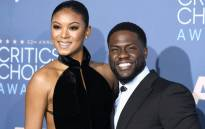FILE: This file photo shows Eniko and Kevin Hart arrive for the 22nd Annual Critics' Choice Awards at the Barker Hangar in Santa Monica, California on 11 December 2016. Picture: AFP.