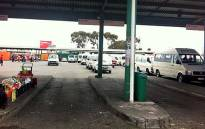 There were no taxis going to Delft, Khayelitsha or Mitchells Plain from the Nyanga rank due to taxi violence on 15 November 2013. Picture: EWN