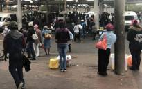 Many commuters were left stranded as a national bus strike got underway om 18 April 2018. Picture: Graig-Lee Smith/EWN