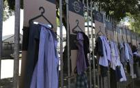The Street Store is a pop-up store where the homeless get clothes for free. Picture: Kaylynn Palm/EWN.