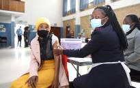 Some of the ECD practitioners and Sassa officials getting vaccinated at a vaccination site in Tembisa, Gauteng. Image: Department of Social Development/Twitter