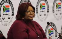 Former ANC MP Vytjie Mentor gives testimony at the state capture commission of inquiry on 27 August 2018. Picture: Christa Eybers/EWN