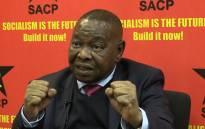 SACP general secretary Blade Nzimande.Picture Kgothatso Mogale/EWN.