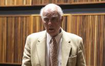 FILE: Former tennis champion Bob Hewitt in court on 23 March 2015. Picture: Gia Nicolaides/EWN.