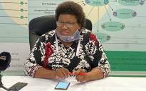FILE: EC Health MEC Sindiswa Gomba She has been implicated in the corruption scandal relating to Former President Nelson Mandela 'S memorial service. . Picture: @healthecmec/Twitter