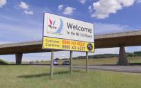 Sign showing the beginning of the N3 toll route in Gauteng. Picture /Screengrab