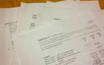 UNISA exam papers, leaked to students. Picture: Christa van der Walt/EWN.