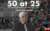 Jenny Govender has spent the first 25 years of her life under an apartheid regime, and the other 25 years enjoying freedom. She gives us her thoughts on the state of the country ahead of the elections. Picture: EWN