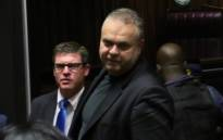 FILE: Convicted criminal Radovan Krejcir (R). Picture: Supplied.