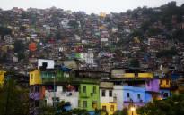 FILE: Favela Rocinha in Rio de Janeiro. Picture: Christa Eybers/EWN