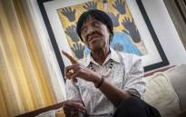 Albertina, daughter of the late chief Albert Luthuli in her home in Ballito, KwaZulu-Natal. Picture: Abigail Javier/EWN