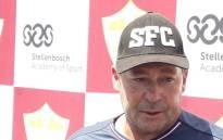 Stellenbosch FC coach Steve Barker. Picture: Ayanda Felem/EWN