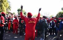 The Economic Freedom Fighters (EFF) is spending part of Youth Day at the Uitsig High School in Centurion, 16 June 2021. Picture: @EFFSouthAfrica/ Twitter.