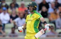 FILE: Australia's Glenn Maxwell reacts after a delivery during the 2019 Cricket World Cup second semi-final between England and Australia at Edgbaston in Birmingham, central England, on 11 July 2019. Picture: AFP