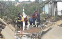 Damage due to floods. Picture: EWN