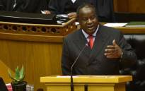 FILE: Finance Minister Tito Mboweni delivers the Medium-Term Budget Policy Statement in Parliament on 30 October 2019. Picture: @TreasuryRSA/Twitter