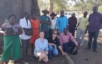 Workshop and pepper-bark seedling distribution in the Mutema Highlands in Zimbabwe. Picture: Botanic Gardens Conservation International