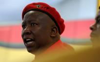 EFF leader Julius Malema. Picture: SAPA