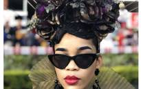 A Vodacom Durban July attendee. Picture: Vodacom Durban July Twitter