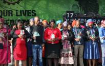 Opposition parties sing one song In pointing at the ANC for the Marikana killings. Picture: Kgothatso Mogale/EWN