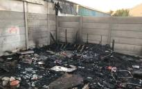 FILE: Two children died during a shack fire in Mitchells Plain, Cape Town. Picture: Supplied