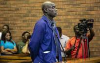 Fita Khupe appeared in Lenasia Magistrates Court for allegedly killing seven people in Vlakfontein. Picture: Abigail Javier/EWN