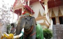 FILE: Elephant statue in Thailand. Picture: Katharyn Williams-Jaftha/EWN.